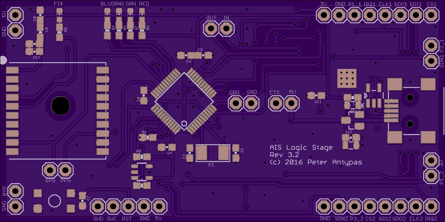 Open Source AIS Transponder – OSH Park