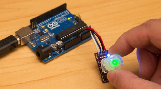 Rotary Encoder with I2C Interface and RGB Lighting – OSH Park